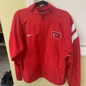 Nike Turkey windbreaker. Men's size large